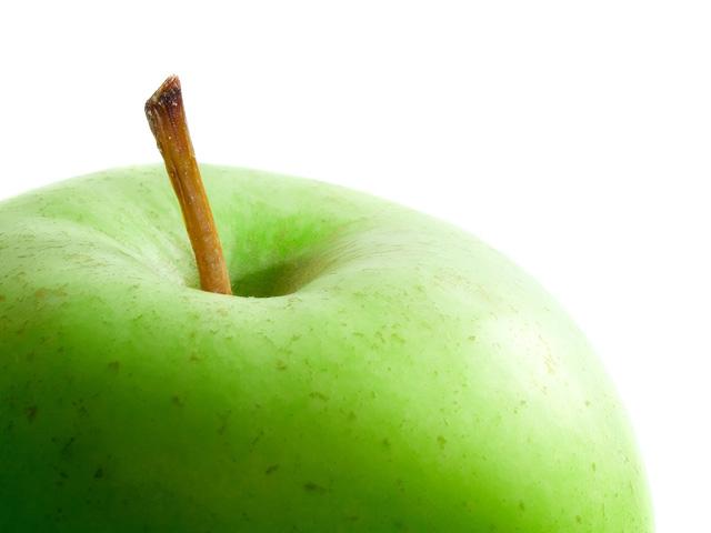 Gesichtsmaske mit Apfel selber machen